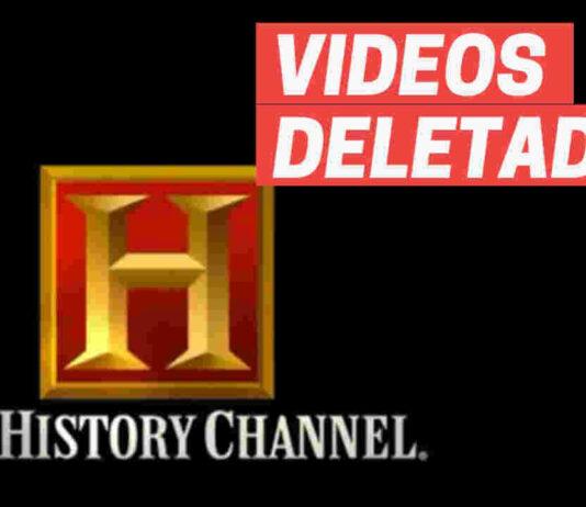 history channel deleta videos youtube