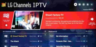 IPTV LG Channels Smart TV