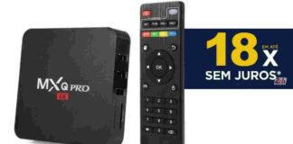 tv box parcelada 18 vezes sem juros