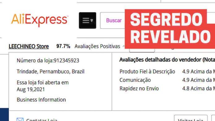 Aliexpress lojas enviam do brasil