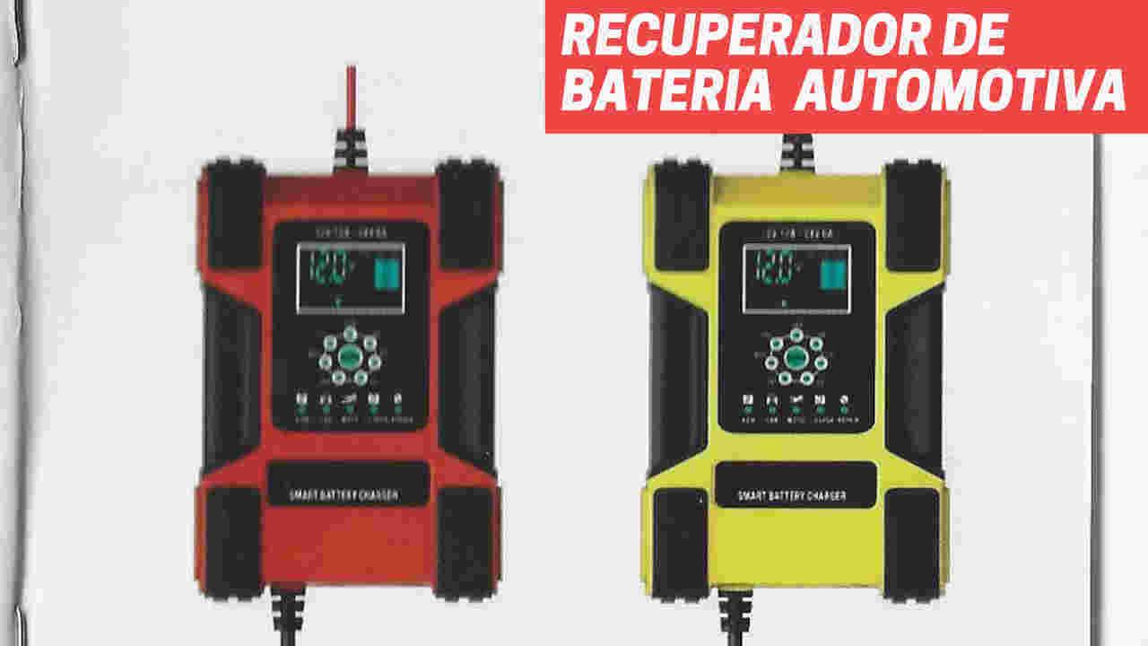 carregador inteligente recuperador de bateria foxsur
