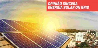 Energia solar on grid opinião