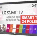 smart tv lg 24 polegadas magazine luiza
