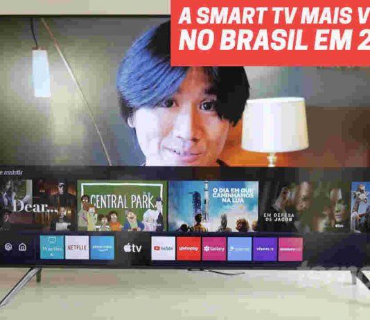 Smart TV 4K Samsung mais vendida 2021