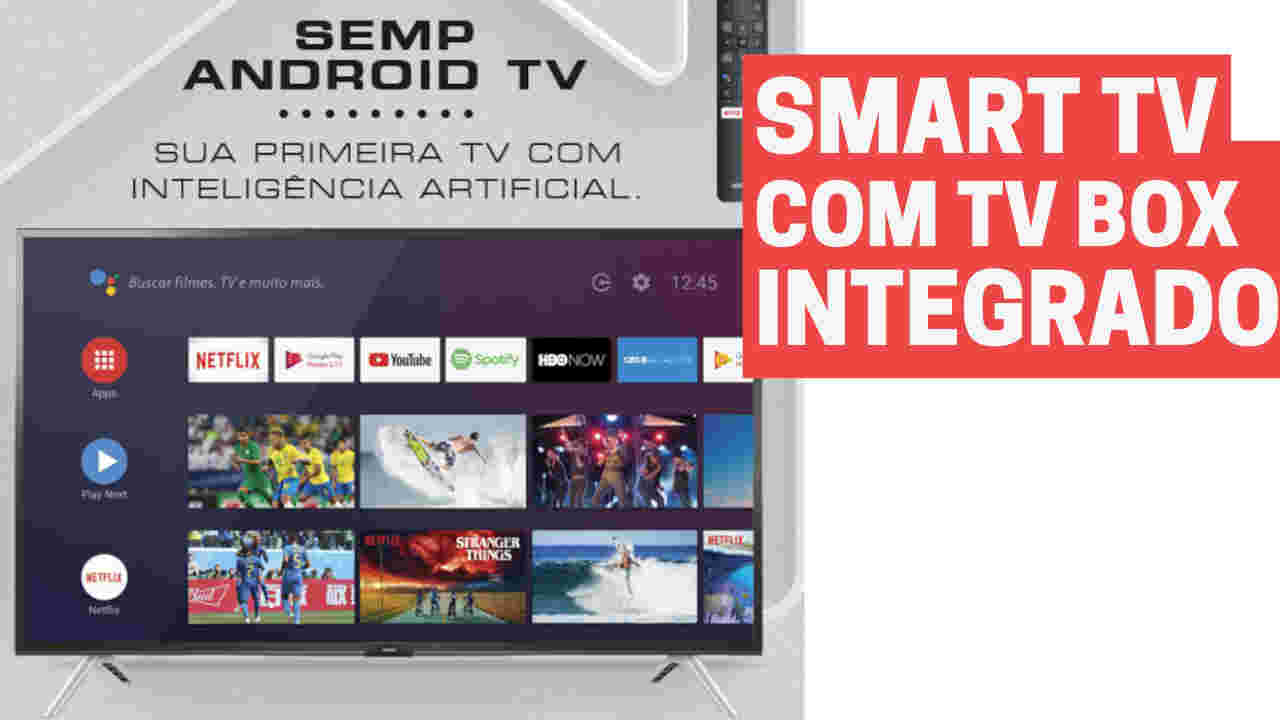Smart Tv Android 32 polegadas Semp S5300