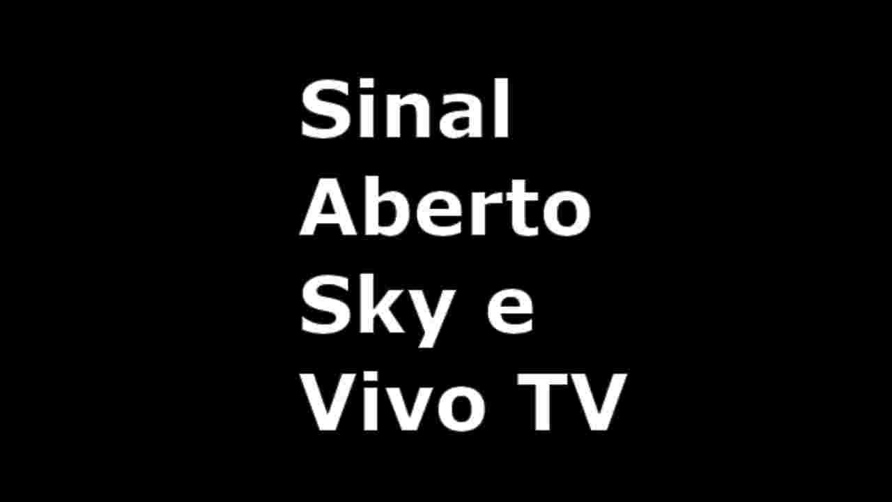 sinal aberto sky vivo tv